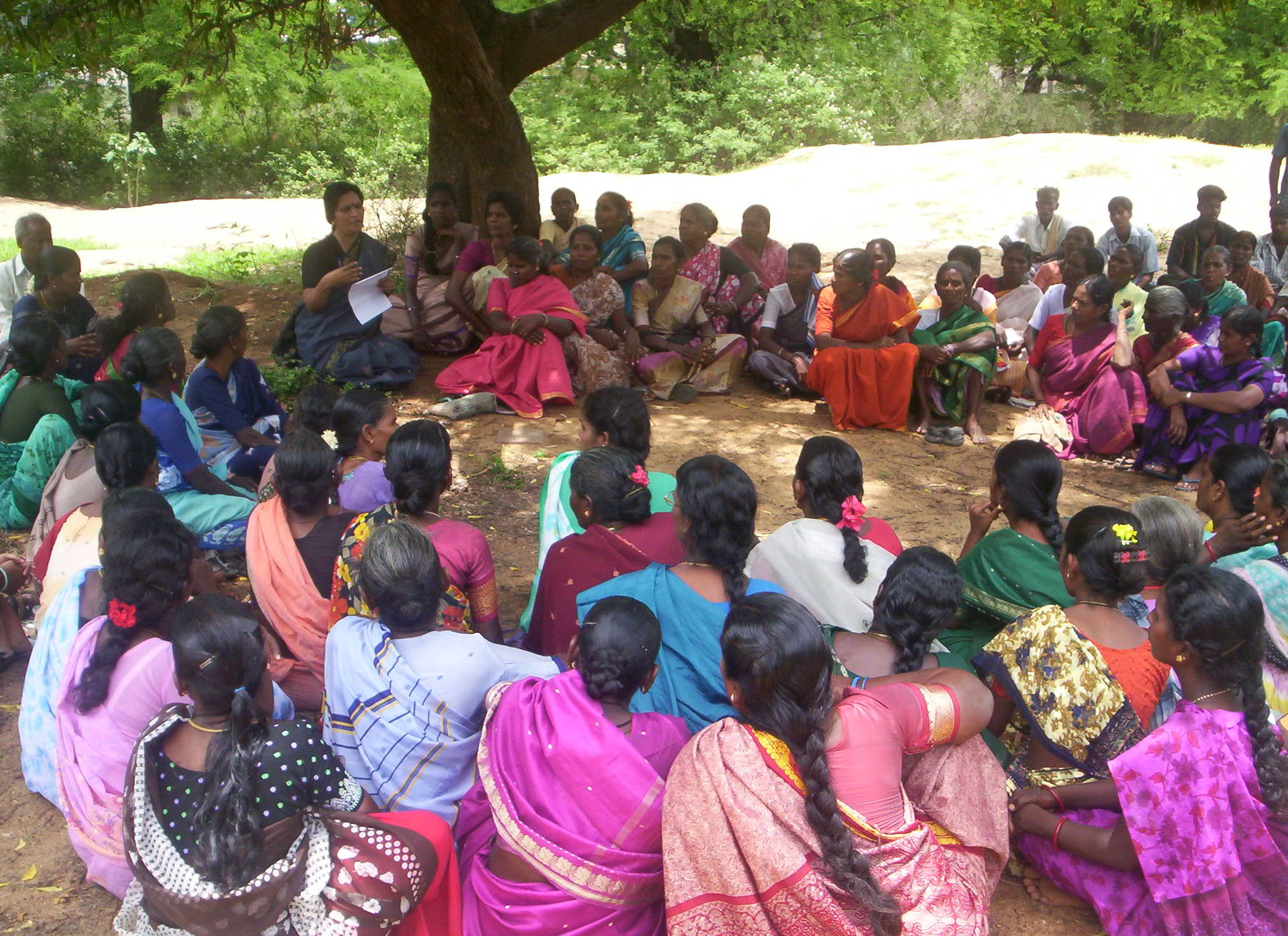 Wome's Self-Help Group Meeting